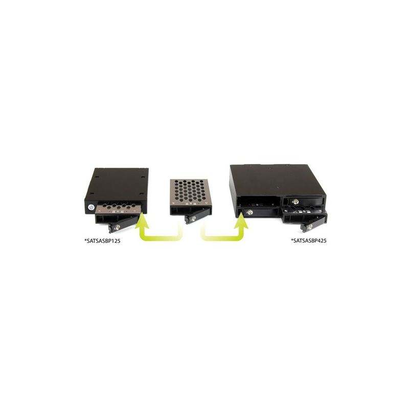 Backplane Rack Movil 1x 2,5 SATA SAS