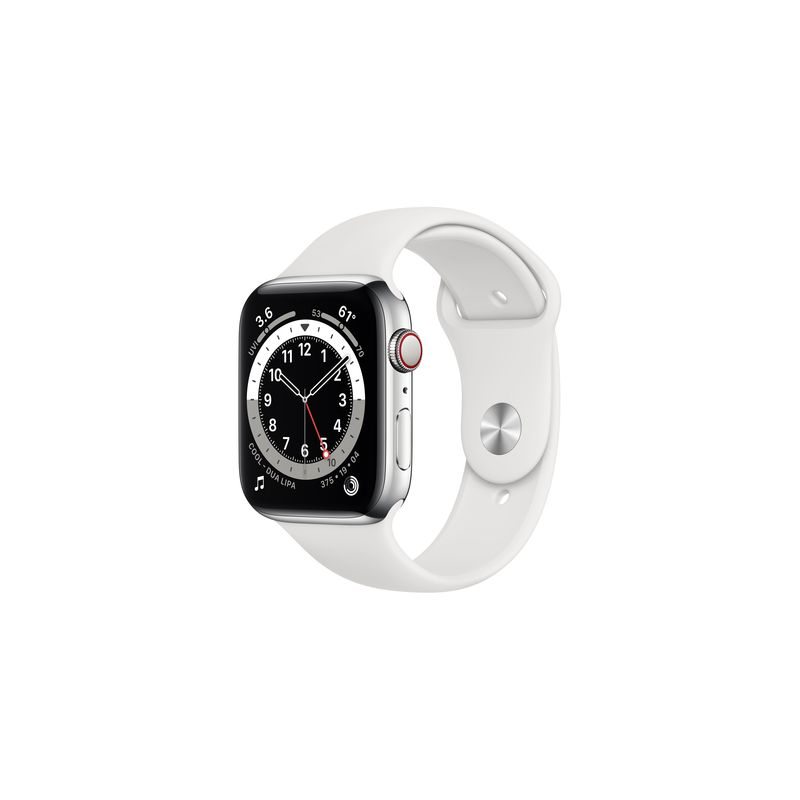 Watch Series 6,44mm,Silver,GPS + Cellular