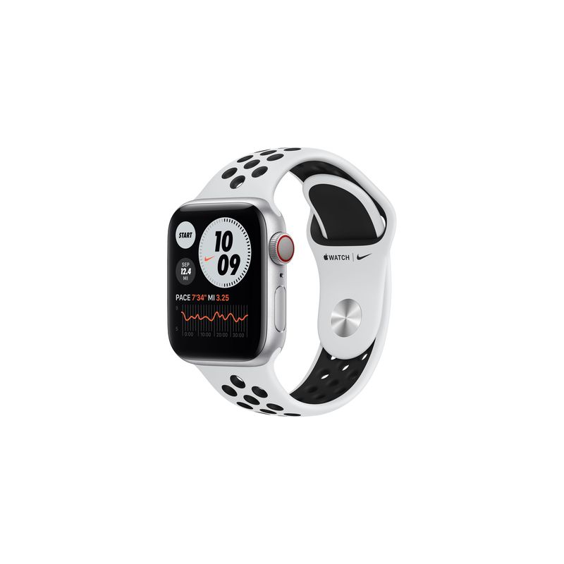 Watch Nike Series 6,40mm,Silver,GPS + Cellular