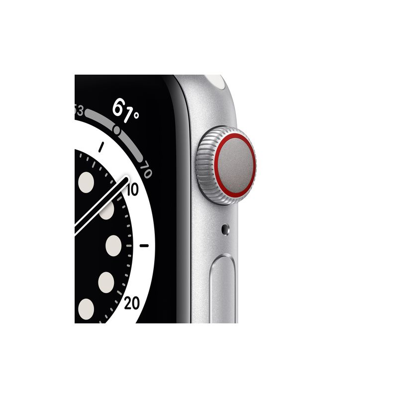 Watch Series 6,40mm,Silver,GPS + Cellular