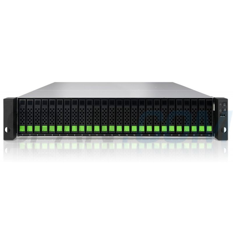 Cabina XCubeNXT XN8026D Unified storage with dual-controller design 2U