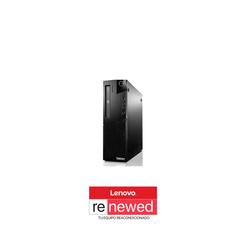RENEWED ThinkCentre M83 SFF,i5-4590T,8GB,256GB SSD